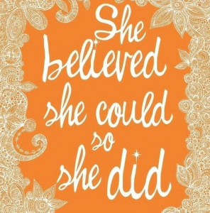 she believed